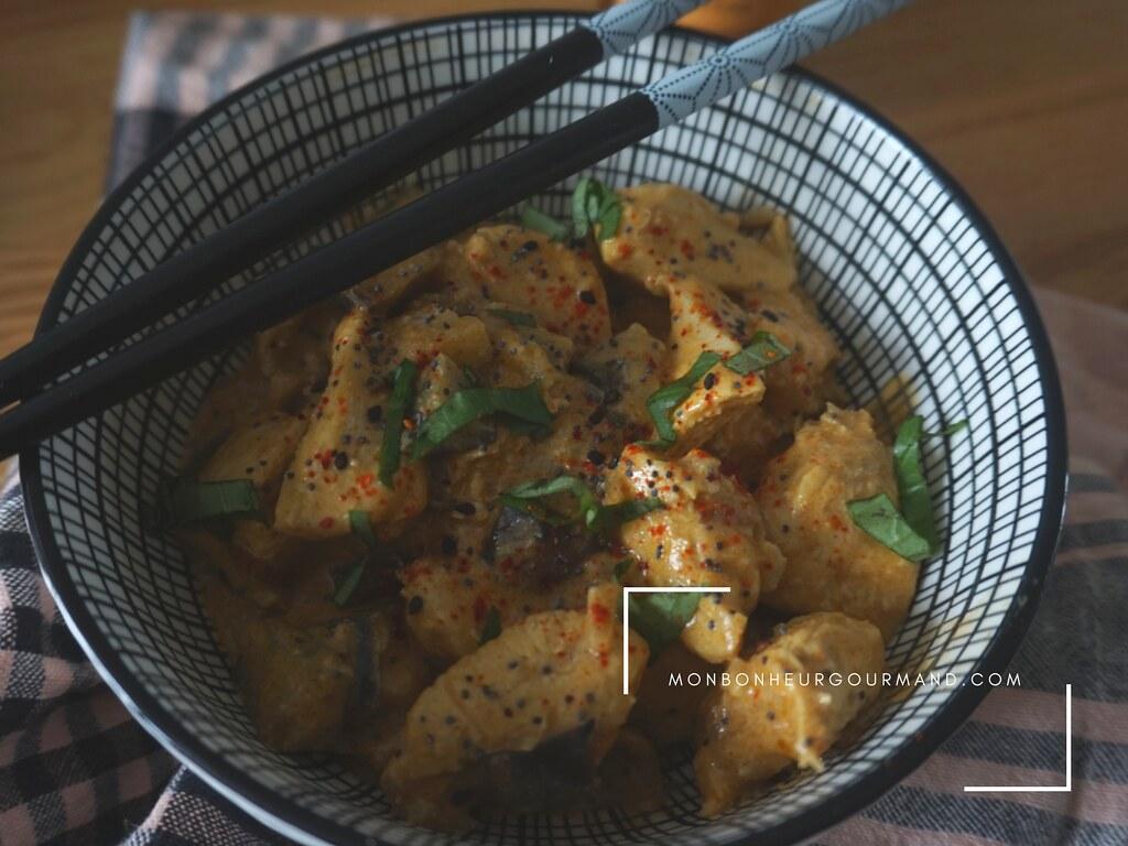 curry de poulet aux tomates séchées 1