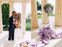 Parthenon wedding in Halkidiki