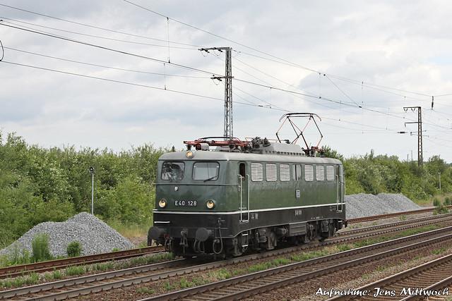 140 128-0 (E40 128) Großkorbetha 08.06.2012