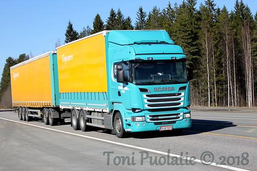 Kuljetusliike Rosenberg & Boman Oy YJE-707 | by puolatie95