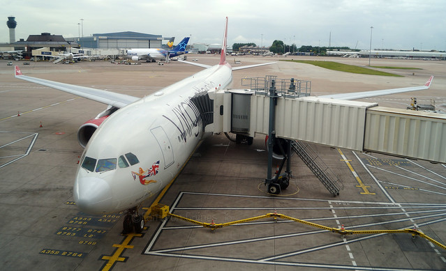 Virgin Atlantic A330-343 G-VSXY. 10/08/16.