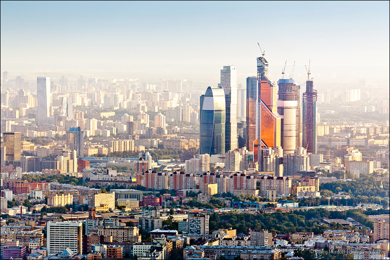 Moscow Skyline Aerial View Buy At Istockphoto Moscow Flickr