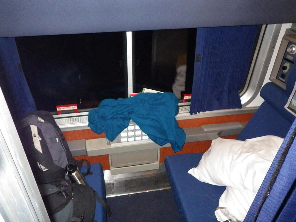 First Class Sleeper Car Amtrak Coast Starlight Train E