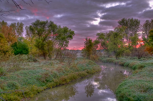 trees nature water clouds creek sunrise reflections river pentax k5