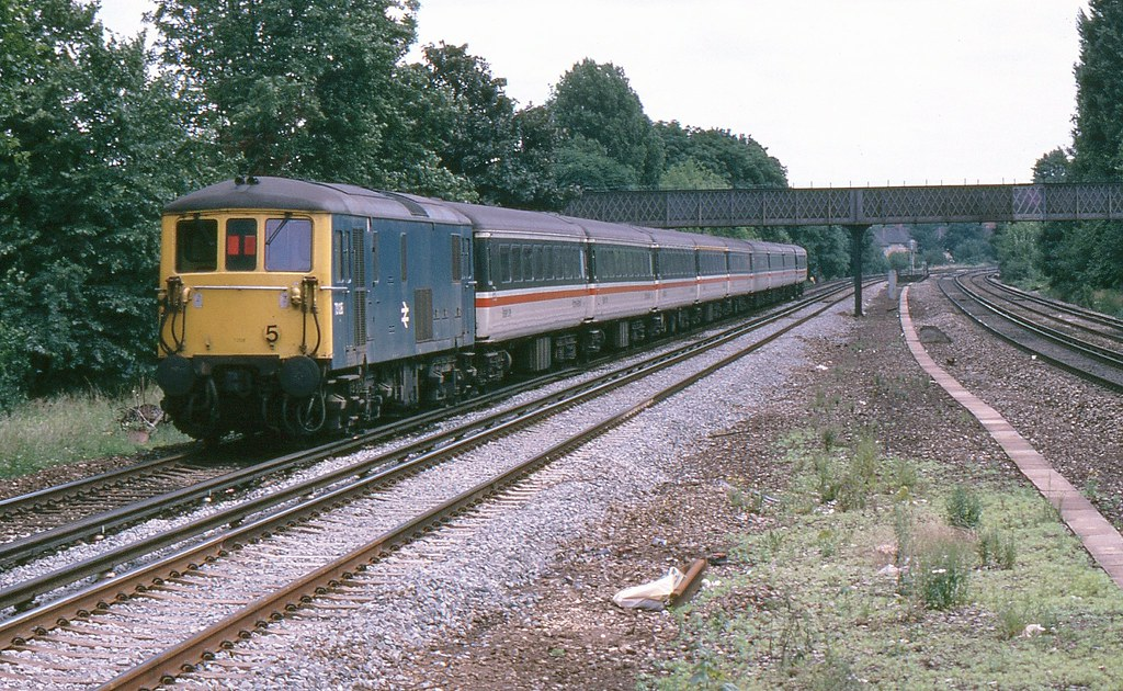 BR Class 73 73128, Norbury by Crewcastrian