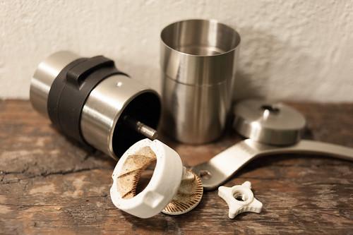 Porlex Mini hand grinder