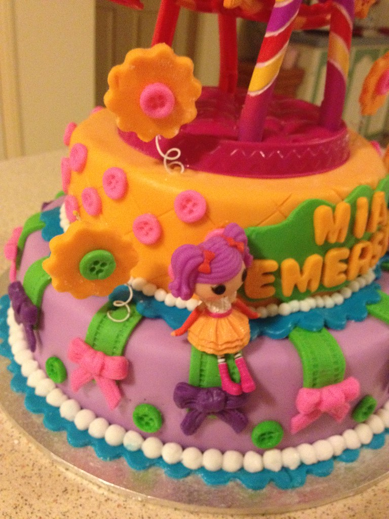 Fabulous Lalaloopsy Ferris Wheel Birthday Cake Girls Lalaloopsy Bir Flickr Personalised Birthday Cards Rectzonderlifede