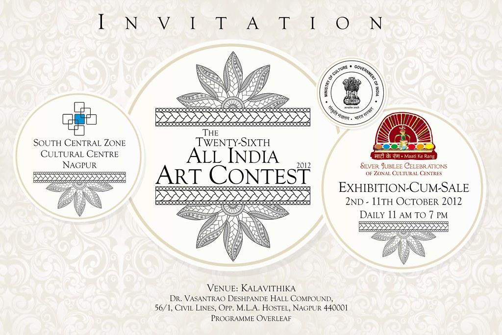 2 Sczcc 26th Art Exhibition Invitation Card Front Web Flickr