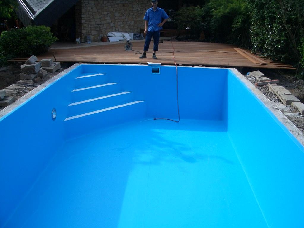 pool mit treppe