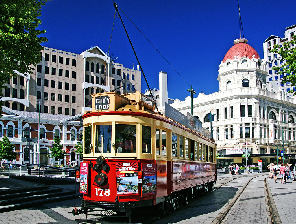 Trams Christchurch NZ   Enjoy a journey in style through the…   Flickr