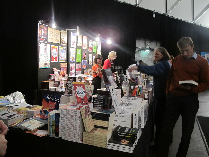 UBS bookstall at the GeoDome