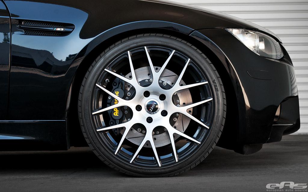 Black E90 M3 AP Racing 08 | european auto source | Flickr