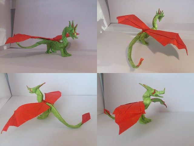 western dragon and updated wyvern