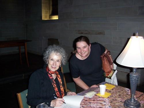 Margaret Atwood at Shove Chapel