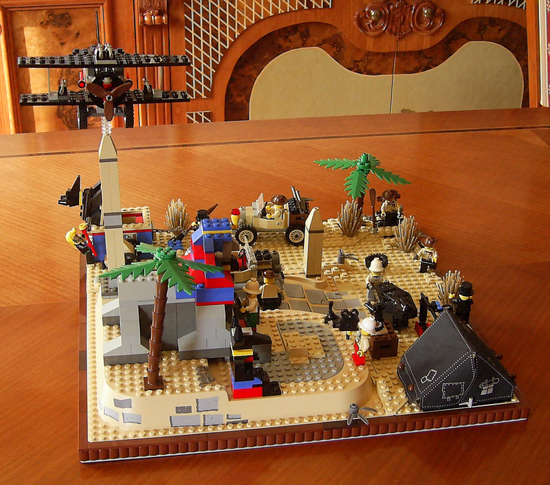 Lego Adventurers Desert diorama | Flickr