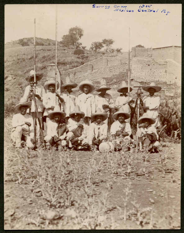 Survey Crew, 1905, Mexican Central Ry.