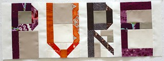 Wonky Quilt Bee - Traveling Quilt - 1st Word | by Quilt. Knit. Share.