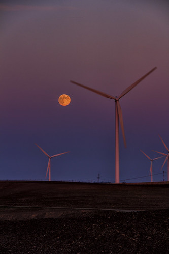 sunset lightpainting windmills fullmoon turbines gate13 birdslandingca 20120929 pjm1 pedromarenco