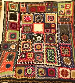 Crochet: Granny Square Sampler is Done!