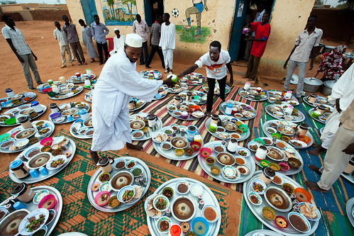 UNAMID Sponsors Iftar for Hundreds in El Fasher | by United Nations Photo