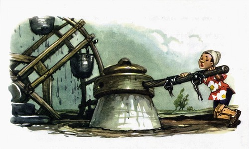 Pinnochio - illustrated by Libico Maraja (87)