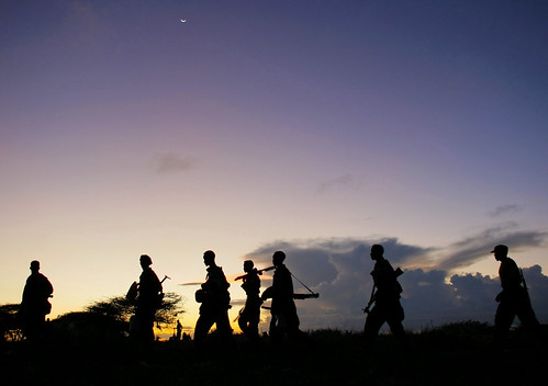 Troops Advance during Anti-Shabaab Operation in Somalia | by United Nations Photo