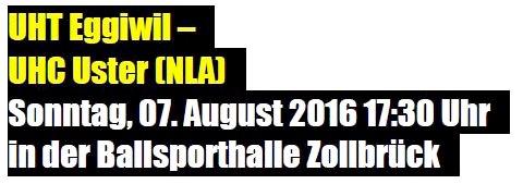 Herren I - UHC Uster Saison 2016/17 Cup