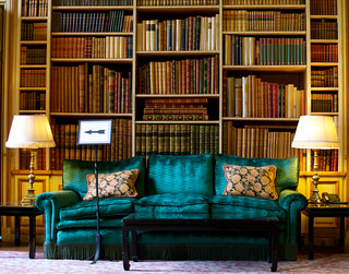 Library at Leeds Castle | by sermoa
