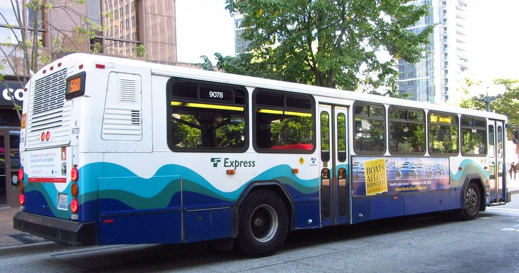 Sound Transit 2001 Gillig Phantom 9078k