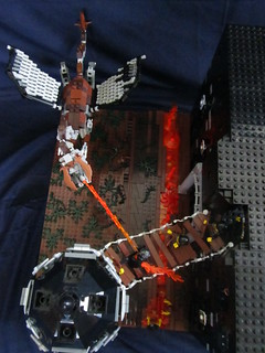 Lego Dragon Castle!