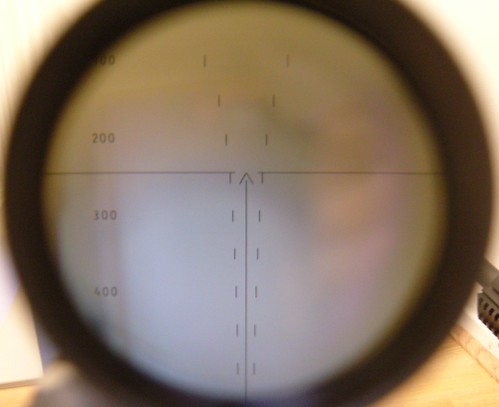 SVD Rifle Scope Crosshair