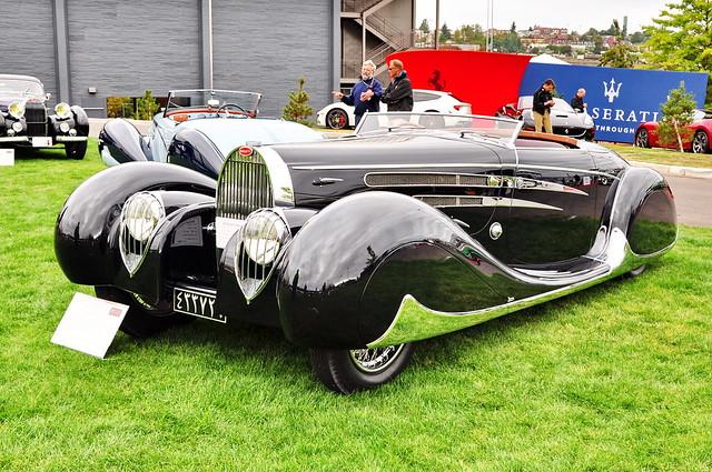 1939 Bugatti T57 by Vanvooren