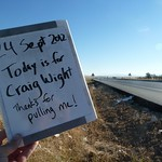 Today is for Craig Wight - thanks for pulling me!