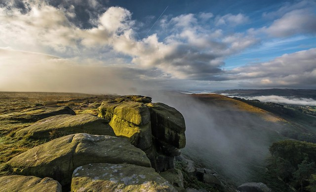 Misty stanage .... continued