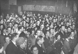 The 1939 party in honor of the one-year anniversary of the great 1938 Claremont flood