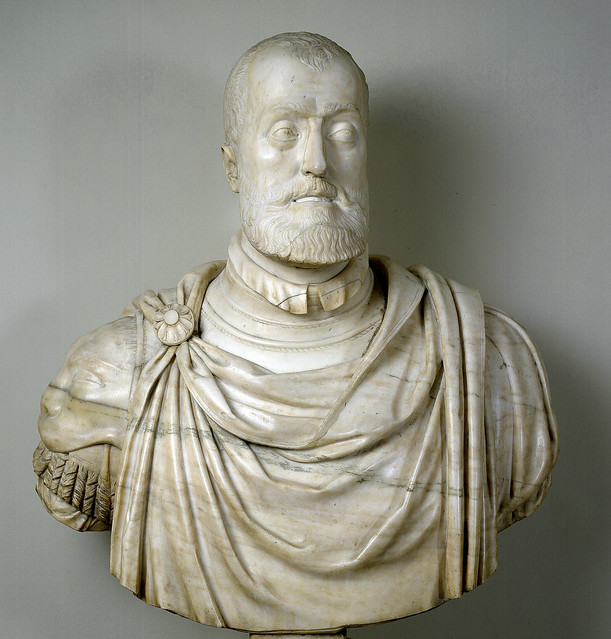 Leone Leoni - Marble bust of Charles [1550-58]