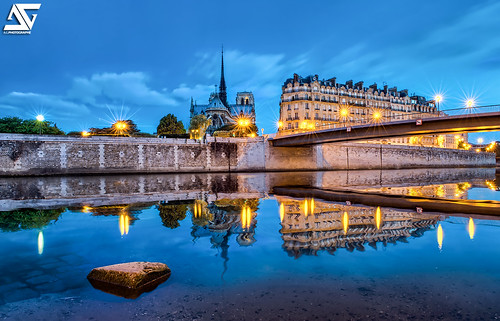 Notre Dame @ Sunset