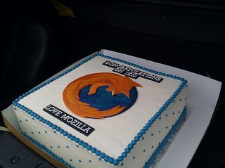 Mozilla IE10 cake | by mbrubeck