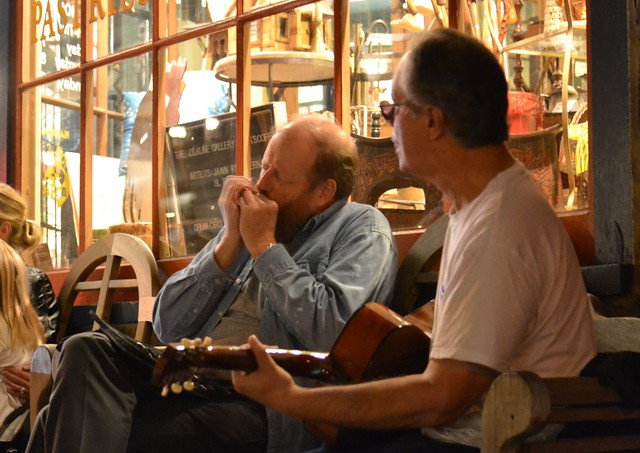 Evening Street Musicians