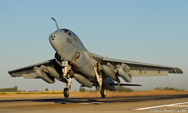 EA-6B Prowler VAQ-129 Vikings BuNo 164402