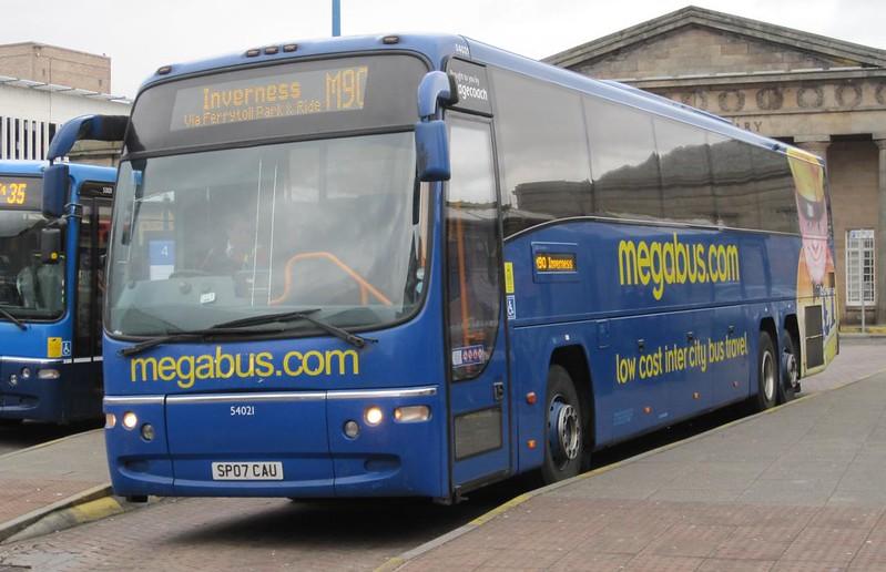Stagecoach 54021 SP07 CAU Megabus