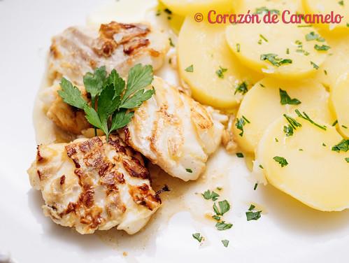 Bacalao a la plancha con limón | by Corazón de Caramelo