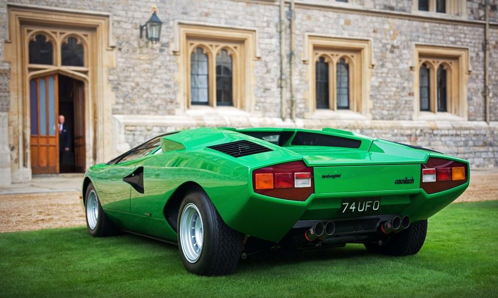 Simon Kidston , 1974 Lamborghini Countach LP400 Periscopa