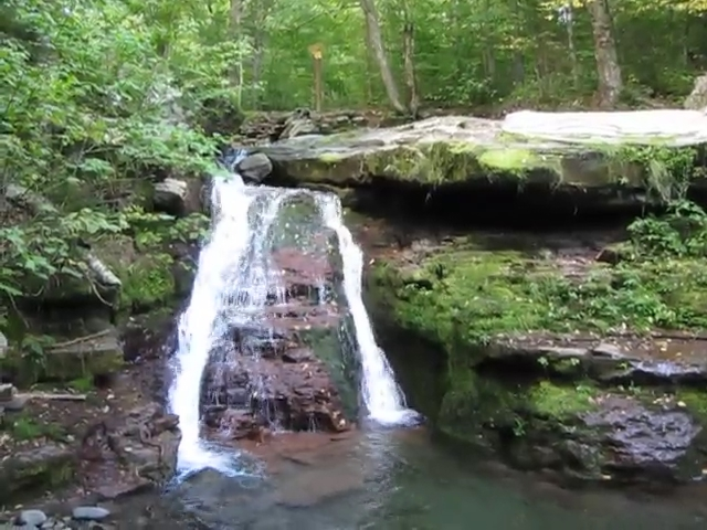 302 Video of Diamond Notch Falls on the Devil's Path