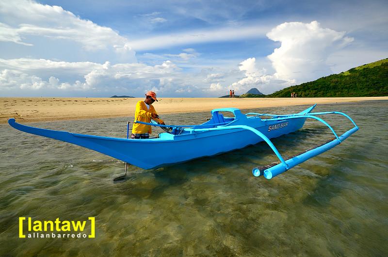 Bulubadiangan Blue Boat