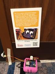 Mesh-networked Arduino Leonardo (from the Data Sensing Lab)