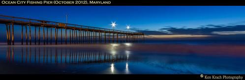water sunrise pier sunsets maryland oceancity atlanticocean mygearandme mygearandmepremium mygearandmebronze bestevercompetitiongroup