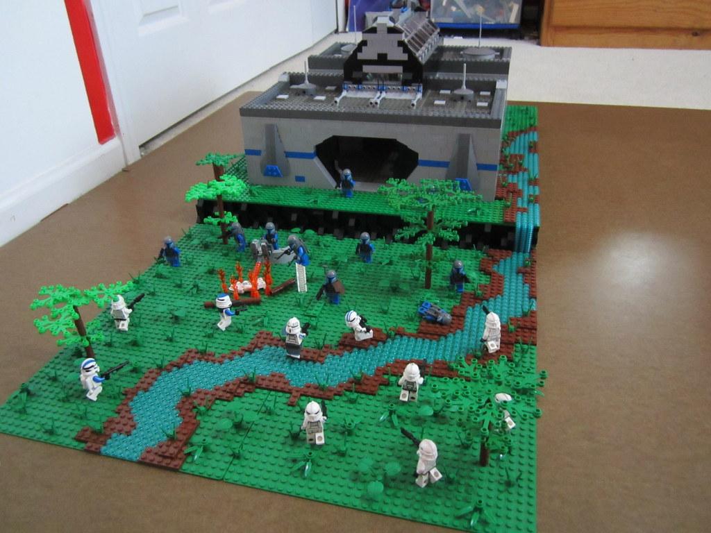 Lego Star Wars Base On Endor Thespidermonkey232 Flickr