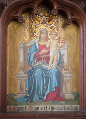 Blessed Virgin and child