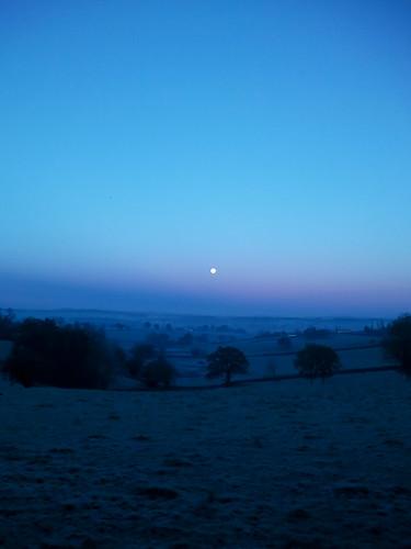 france dawn countryside